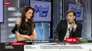 Malika Ménard dans le Grand Tour - 29/03/14 - 12