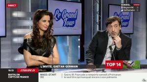 Malika Ménard dans le Grand Tour - 29/03/14 - 14