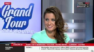 Malika Ménard dans le Grand Tour de l'Equipe - 03/05/14 - 01