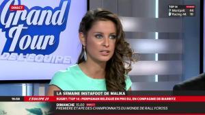 Malika Ménard dans le Grand Tour de l Equipe - 03/05/14 - 06