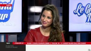 Malika Ménard dans le Grand Tour de l'Equipe - 11/01/14 - 01