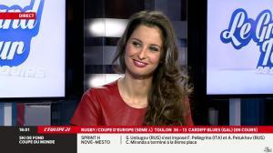 Malika Ménard dans le Grand Tour de l Equipe - 11/01/14 - 02