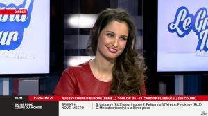 Malika Ménard dans le Grand Tour de l'Equipe - 11/01/14 - 03