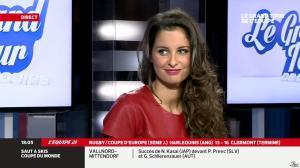 Malika Ménard dans le Grand Tour de l Equipe - 11/01/14 - 04