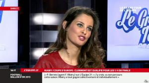Malika Ménard dans le Grand Tour de l'Equipe - 11/01/14 - 07