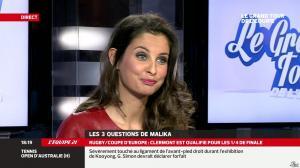 Malika Ménard dans le Grand Tour de l Equipe - 11/01/14 - 10