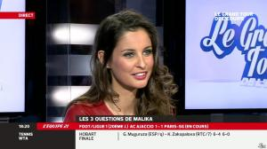 Malika Ménard dans le Grand Tour de l Equipe - 11/01/14 - 12