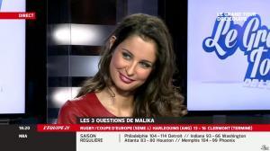 Malika Ménard dans le Grand Tour de l'Equipe - 11/01/14 - 13