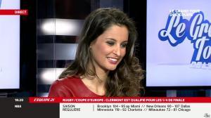 Malika Ménard dans le Grand Tour de l'Equipe - 11/01/14 - 14