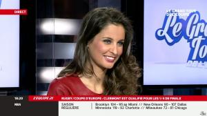 Malika Ménard dans le Grand Tour de l Equipe - 11/01/14 - 15