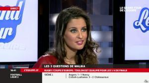 Malika Ménard dans le Grand Tour de l Equipe - 11/01/14 - 19