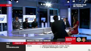 Malika Ménard dans le Grand Tour de l'Equipe - 11/01/14 - 22