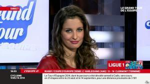 Malika Ménard dans le Grand Tour de l'Equipe - 11/01/14 - 26
