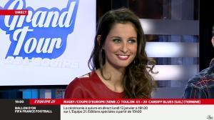 Malika Ménard dans le Grand Tour de l'Equipe - 11/01/14 - 28