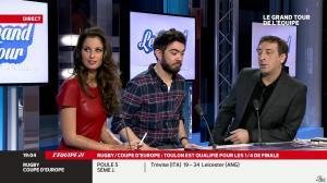 Malika Ménard dans le Grand Tour de l Equipe - 11/01/14 - 30