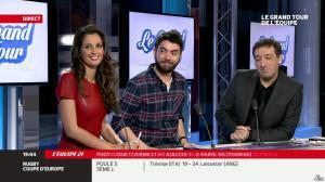Malika Ménard dans le Grand Tour de l Equipe - 11/01/14 - 31
