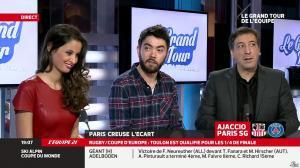 Malika Ménard dans le Grand Tour de l'Equipe - 11/01/14 - 33