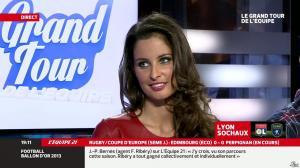 Malika Ménard dans le Grand Tour de l'Equipe - 11/01/14 - 36