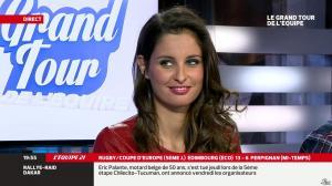 Malika Ménard dans le Grand Tour de l'Equipe - 11/01/14 - 40