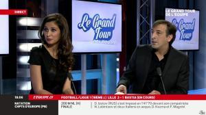 Malika Ménard dans le Grand Tour de l Equipe - 15/12/13 - 04