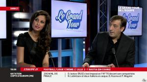 Malika Ménard dans le Grand Tour de l'Equipe - 15/12/13 - 05