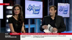 Malika Ménard dans le Grand Tour de l'Equipe - 15/12/13 - 06