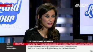 Malika Ménard dans le Grand Tour de l Equipe - 15/12/13 - 07