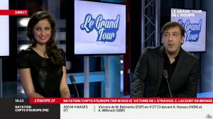 Malika Ménard dans le Grand Tour de l'Equipe - 15/12/13 - 08