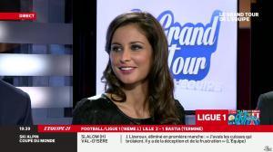 Malika Ménard dans le Grand Tour de l'Equipe - 15/12/13 - 12
