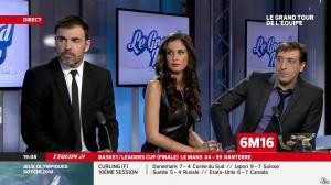 Malika Ménard dans le Grand Tour de l Equipe - 16/02/14 - 03