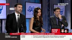 Malika Ménard dans le Grand Tour de l Equipe - 16/02/14 - 06