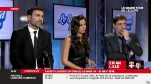 Malika Ménard dans le Grand Tour de l Equipe - 16/02/14 - 07