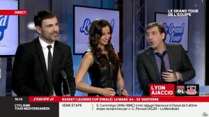 Malika Ménard dans le Grand Tour de l Equipe - 16/02/14 - 11