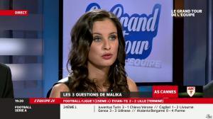 Malika Ménard dans le Grand Tour de l Equipe - 16/02/14 - 14