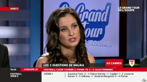 Malika Ménard dans le Grand Tour de l Equipe - 16/02/14 - 15