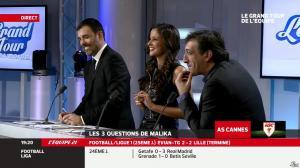 Malika Ménard dans le Grand Tour de l Equipe - 16/02/14 - 17