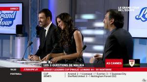 Malika Ménard dans le Grand Tour de l Equipe - 16/02/14 - 19