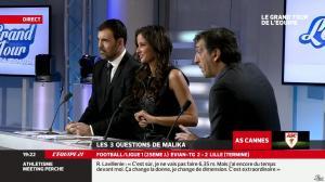 Malika Ménard dans le Grand Tour de l Equipe - 16/02/14 - 21