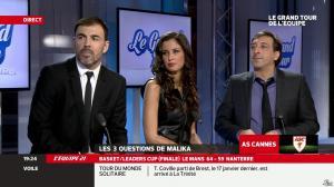 Malika Ménard dans le Grand Tour de l'Equipe - 16/02/14 - 22