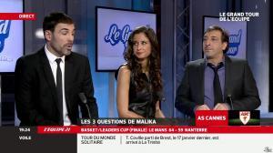 Malika Ménard dans le Grand Tour de l Equipe - 16/02/14 - 23