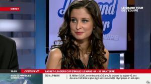 Malika Ménard dans le Grand Tour de l Equipe - 16/02/14 - 27