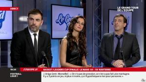 Malika Ménard dans le Grand Tour de l Equipe - 16/02/14 - 29