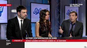 Malika Ménard dans le Grand Tour de l'Equipe - 16/02/14 - 30