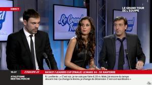 Malika Ménard dans le Grand Tour de l Equipe - 16/02/14 - 31