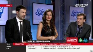 Malika Ménard dans le Grand Tour de l'Equipe - 16/02/14 - 37