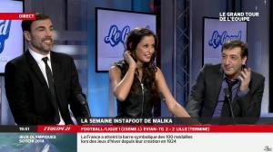 Malika Ménard dans le Grand Tour de l Equipe - 16/02/14 - 43