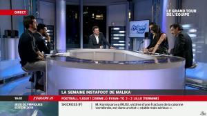 Malika Ménard dans le Grand Tour de l Equipe - 16/02/14 - 47
