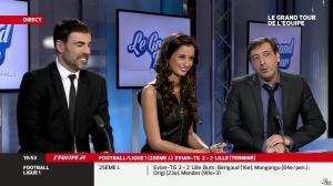 Malika Ménard dans le Grand Tour de l Equipe - 16/02/14 - 49