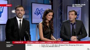 Malika Ménard dans le Grand Tour de l Equipe - 16/02/14 - 50