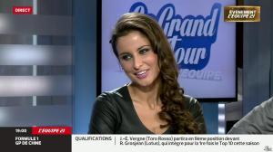 Malika Ménard dans le Grand Tour de l'Equipe - 19/04/14 - 01